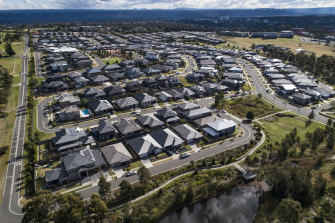 Caddens in Sydney's west is being transformed by new developments.