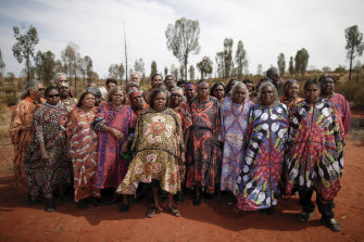 The Central Australian Aboriginal Women's Choir heralded the long-awaited protection of Uluru.