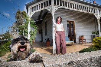 Castlemaine renter Mandy Connell.