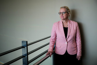 Sunnyfield chief executive Caroline Cuddihy fronted the disability royal commission on Wednesday.