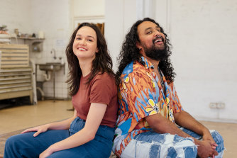 The way out of the biggest crisis to affect Australia's creative arts is vaccination, according to artists Thea Perkins and Ramesh Mario Nithiyendran.