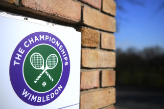 Wimbledon was cancelled last year due to the pandemic.