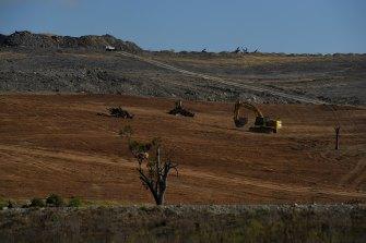MACH Energy's Mount Pleasant coal mine near Muswellbrook.