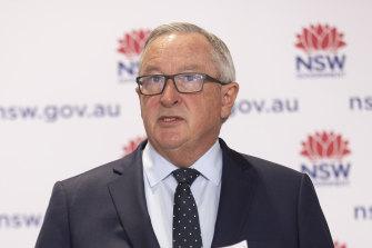 NSW Health Minister Brad Hazzard on Saturday.