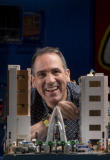 Lego has a perennial appeal for adults and children, says McNaught.