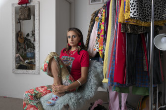 Kara Otter, founder and creative designer at Karameleon Australia, specialises in signature '90s second-hand fashion.