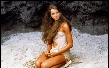 Aged 15 in The Blue Lagoon (1980).