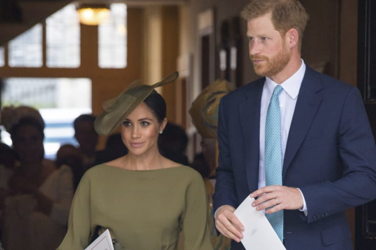 Prince Harry and Meghan, Duchess of Sussex.