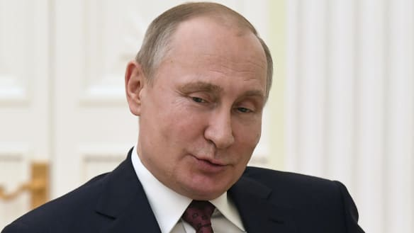 Putin tells the West: I don't want arms race