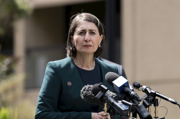 NSW Premier Gladys Berejiklian approved of more than $100 million going to councils in Coalition seats in the lead up to the state election.