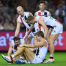 Loss to Essendon a wake-up call for embarrassed Saints: Ratten