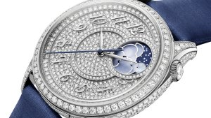 Vacheron Constantin's Égérie range tops out with a diamond-pavé model worth $277,000.