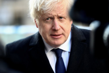 """Boris Johnson: """"We need to sort that out and make sure they make a fairer contribution."""""""