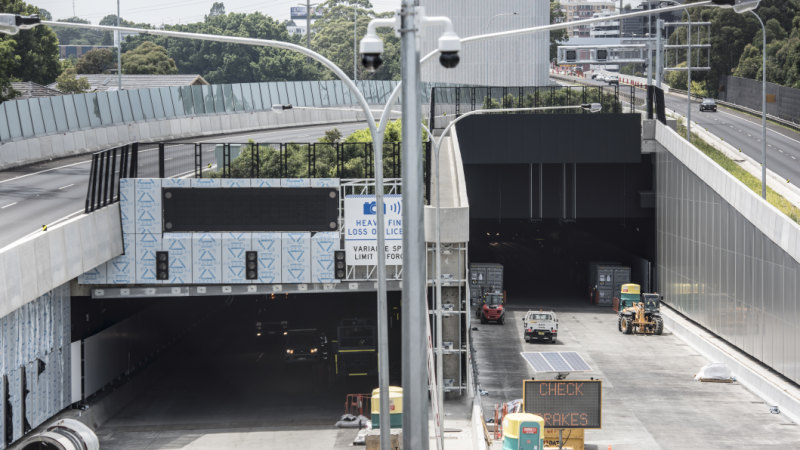 Westconnex Tunnel Traffic Set To Be Higher Than Expected