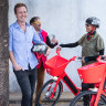 Bright red e-bike fleet to pop up on city streets on Wednesday morning