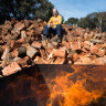 'We can't keep up': Melbourne lockdown stokes demand for firewood