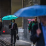 Bring a brolly: Heavy rain and wild winds set to hit Melbourne