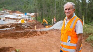 "'The eyes of the old village"": Jose de Nascimento de Jesus, known as Zezinho do Bento, survived the Samarco disaster."