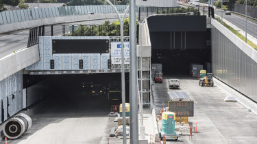 The M4 East tunnel is due to open to motorists within the next four months.