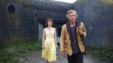 Moll (Jessie Buckley) and Pascal (Johnny Flynn) in Michael Pearce's feature debut <i>Beast</i>.