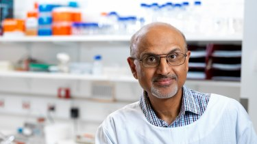 QIMR's Professor Rajiv Khanna said a combined immunotherapy would be used in the next phase of the trial.
