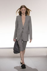 Short suits featured on many runways, including Givenchy.