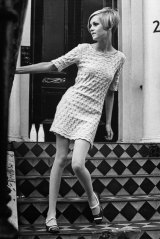 British model and 1960s' icon Twiggy inspired Mara & Mine.