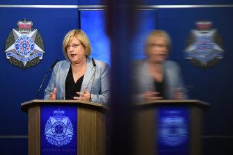 Police Minister Lisa Neville on Tuesday.