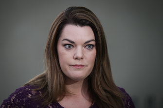 Greens senator Sarah Hanson-Young is prepared to help the Morrison government to protect media organisations from tech giants.