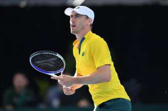 John Millman thinks the courts at Melbourne Park will play differently this year.