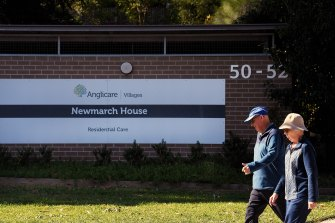 Coronavirus has devastated Newmarch Aged Care home in Cadden, western Sydney.