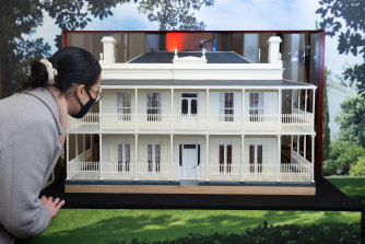 Emily Boutard of Little Architecture has created a mini Como House.