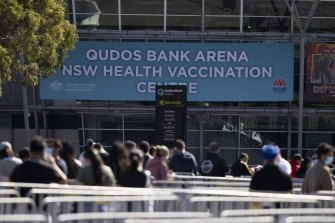 School staff will be given priority vaccine access ay Qudos Bank Arena from September 6, after jabs became mandatory.