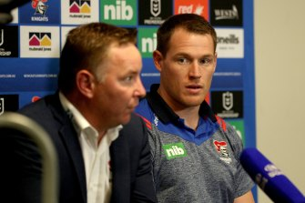 Tim Glasby's now-former side are looking good heading into the NRL finals.
