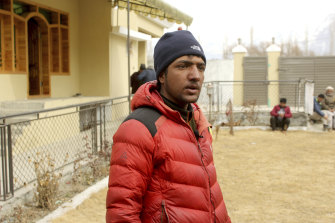 Sajid Ali Sadpara, the son of missing mountain climber Ali Sadpara, had started the expedition with his dad but turned back when his equipment failed.