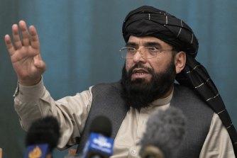 Taliban spokesman Suhail Shaheen was set to speak at the event.