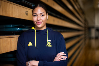 Australian Opals centre Liz Cambage will return to the WNBL with Southside Flyers.