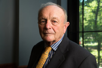 Harvey Norman chairman Gerry Harvey has paid back JobKeeper.