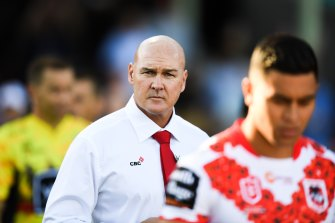 Paul McGregor's job is back on the agenda at the Dragons.