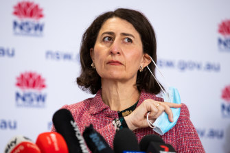 Premier Gladys Berejiklian is concerned about the spread of the virus in western NSW.