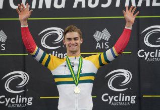 Australian track cyclist Matthew Glaetzer.