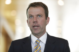 Minister for Education Dan Tehan has defended his department's expenditure.