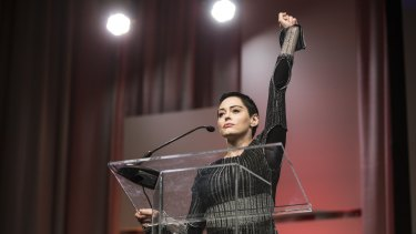 Rose McGowan: a leading figure in the backlash against sexual harassment and abuse in Hollywood.