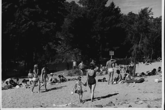Casuarina Sands, circa 1965. A year later the river claimed the lives of three Canberra youths on the same day.