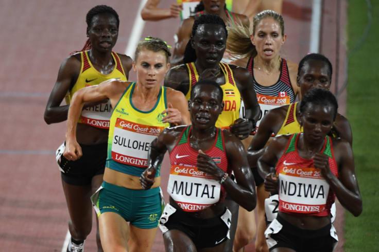 Celia Sullohern of Australia in action in the Women's 10000m.