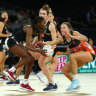 Magpies can't find way to win in Mentor's 200th while Swifts thump Vixens