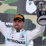 Bottas roars home in Japan GP, Mercedes seal sixth constructors' title