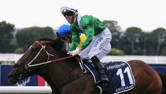 Estijaab takes Golden Slipper for Team Hawkes and the true believers