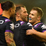 Cameron Smith's late winner gets Storm over the line against Dragons