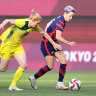 As it happened: Late fightback not enough for Matildas